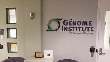 DNA sequencer at Washington University Genome Institute